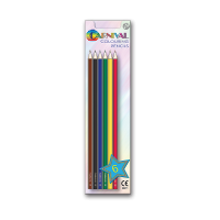 Carnival Colouring Pencils 6 Pack Full Size